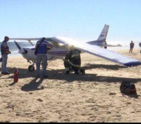Portugal: avião faz pouso forçado em praia e mata dois banhistas