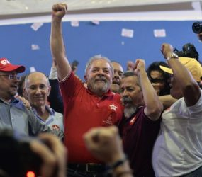 Lula inicia sua caravana pelo Nordeste