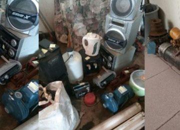 Polícia de Zanderij apreende objetos roubados e convoca vítimas para recuperar seus pertences