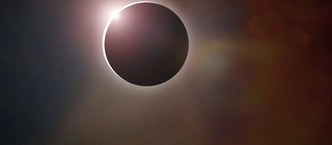 Parte do Eclipse solar foi visto no Suriname