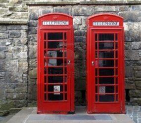 Cabines telefônicas de Londres serão aposentadas