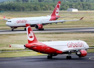 Pilotos doentes levam Air Berlin a cancelar cerca de 100 voos