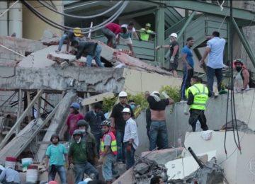 Terremoto mata mais de 20 crianças em escola na Cidade do México