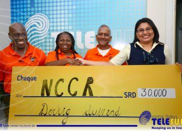 Telesur doa SRD 30 mil para fundo de emergência do NCCR