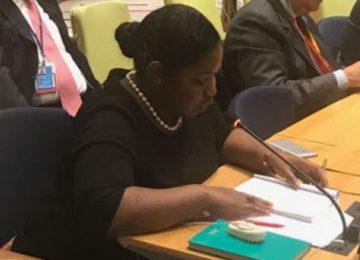 Ministra Yldiz Pollack participou de reunião da ONU em Nova York