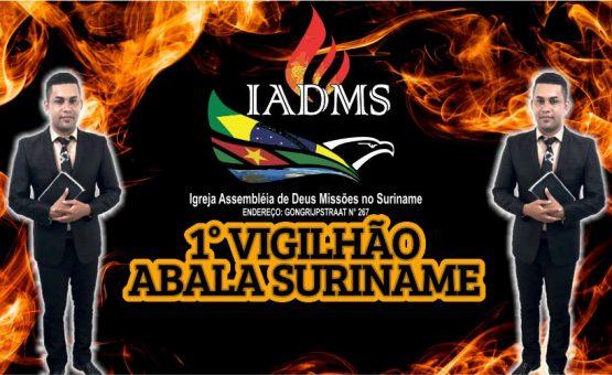 "IADMS realiza evento gospel ""Impacto Pentecostal Abala Suriname"""