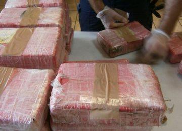 400 Kgs de cocaína encontrados em contêiner de carga em Paramaribo