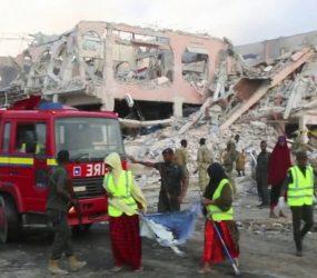 Balanço de mortos em atentado na Somália é atualizado para 276