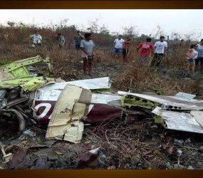 Avião monomotor cai em Itaituba, no Pará, e deixa 5 mortos