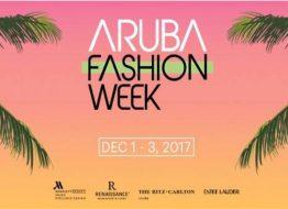 ARUBA FASHION WEEK  INTERNATIONALE FASHION WEEK OP EEN ZONNIGE EILAND