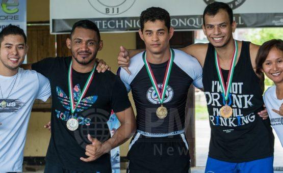 Academia Invictus promoveu torneio aberto de Jiu-Jítsu em Paramaribo (Fotos)