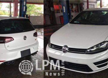 Proprietário oferece recompensa para quem der informações sobre veículo roubado em Paramaribo (Fotos)
