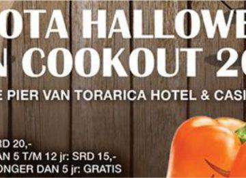 Festival de comida Halloween será realizado no Hotel Torarica em Paramaribo