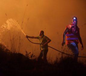 Incêndios florestais deixam mais de 30 mortos em Portugal