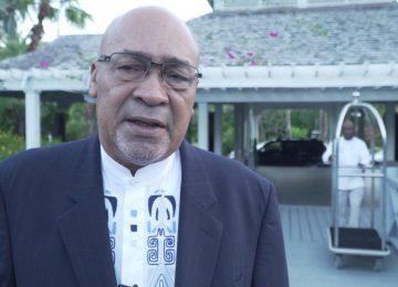 Presidente Desi Bouterse fala sobre o encontro do CARICOM em Cuba