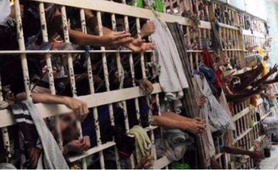 Brasil é terceiro país com maior número de presos