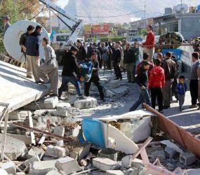 Dois terremotos atingem o Irã e mais de 80 pessoas ficam feridas