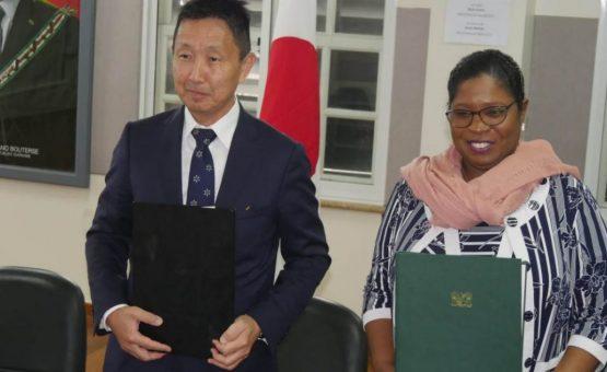 Centro Nacional de Coordenação e Gestão de Desastres do Suriname receberá doação de equipamentos do Japão
