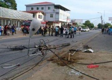 Motorista embriagado atropela e mata ciclista de 71 anos de idade em Paramaribo