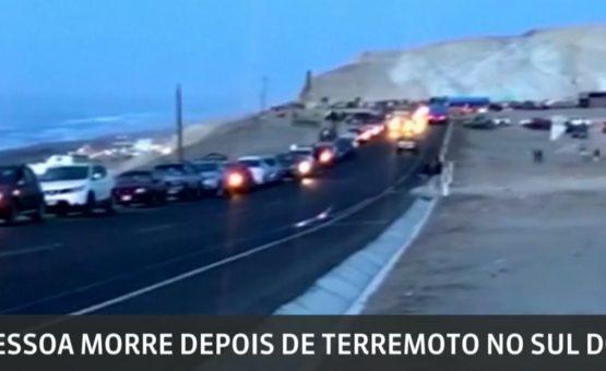 Terremoto deixa 1 morto e mais de 60 feridos no Peru
