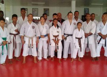Sensei brasileiro realiza primeiro seminário internacional de karatê shotokan no Suriname (Fotos)
