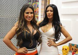 Simone, da dupla com Simaria, celebra curvas com roupa transparente