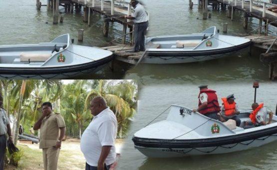 Polícia retoma patrulhamento nos rios do Suriname