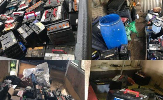 Quadrilha que roubava baterias de carros foi presa pela polícia em Paramaribo