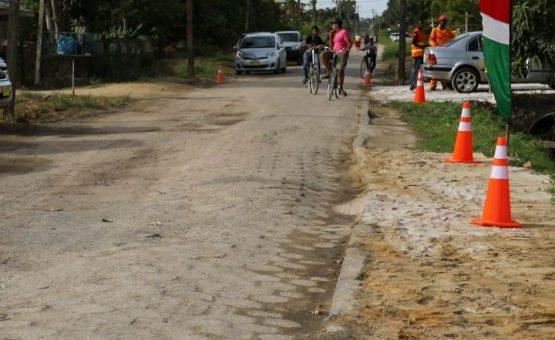Ministério das Obras Públicas começa trabalho de reabilitação da Mangolaan