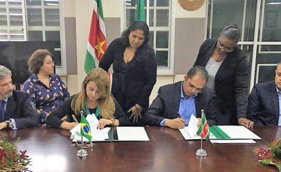 II Encontro do Grupo de Trabalho sobre Cooperação Técnica Brasil-Suriname foi realizado em Paramaribo