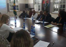 Representantes da Agência Brasileira de Cooperação chegam ao Suriname para discutir projetos de cooperação