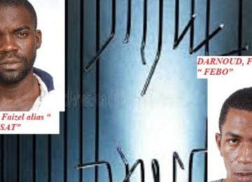 Polícia divulga fotos de criminosos que fugiram da prisão no Suriname