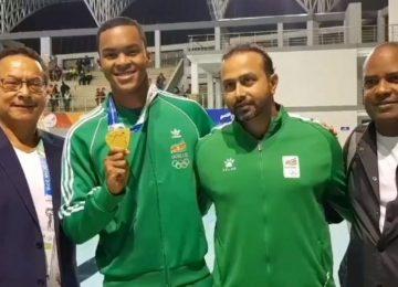 Suriname conquista primeira medalha de ouro nos Jogos Sul-Americanos na Bolívia