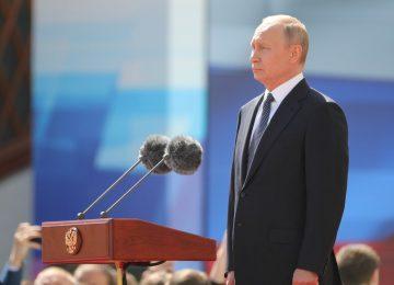 Vladimir Putin toma posse para o quarto mandato presidencial