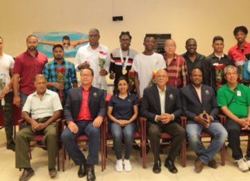 Governo do Suriname homenageou delegação que atuou nos Jogos Sul-Americanos na Bolívia
