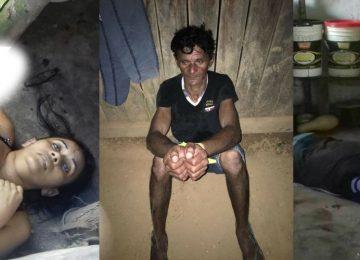 Garimpeiro ciumento mata cozinheira e operador no garimpo Vila Brasil