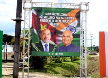 Distrito do Pará se organiza para saudar a passagem do presidente da Índia