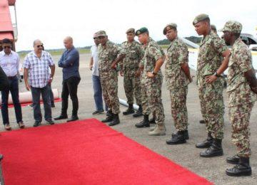 Governo do Suriname ajusta os últimos detalhes para a chegada do Presidente da Índia