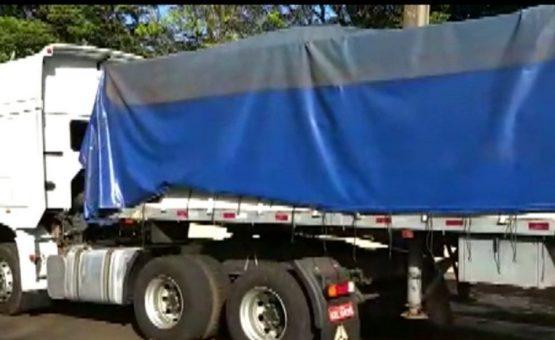 Receita Federal apreende mais de 1,7 tonelada de maconha em caminhão carregado com feijão