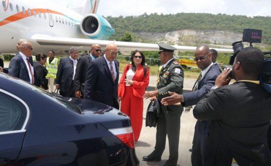 Presidente Desi Bouterse está na Jamaica participando do encontro de chefes de governo da CARICOM