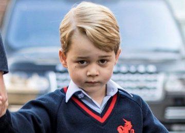 Príncipe George completa cinco anos neste domingo