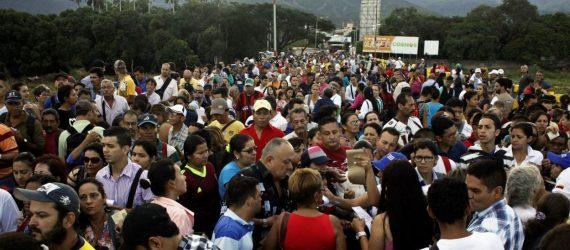 Ministro acompanha a situação dos migrantes venezuelanos em Roraima