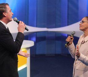 Marina atingiu Bolsonaro no seu ponto mais fraco
