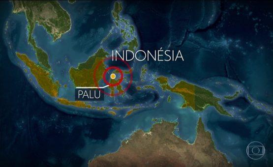 Após tremores, tsunami atinge ilha indonésia de Sulawesi