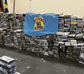 Apreensão de 1,5 tonelada de cocaína revela nova rota de droga proveniente do Suriname