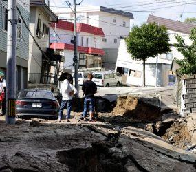 Terremoto deixa nove mortos e 30 desaparecidos na Ilha de Hokkaido, no Japão