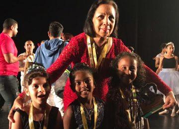Dançarinos da escola de Ballet Marlène no Suriname se apresentaram em Belém do Pará (Fotos)