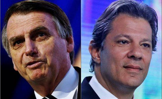 Bolsonaro teve mais de 50% dos votos válidos por 1 hora e 15 minutos durante a apuração