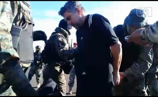 Marcelo Piloto é entregue às autoridades brasileiras após ser expulso do Paraguai