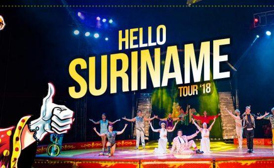 Circo mexicano Hnos Suarez se apresenta no Suriname (Veja o vídeo)